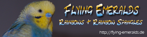 Flying Emeralds: Rainbows & Rainbow Spangles